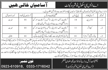Army Service Corps ASC School Jobs October 2020