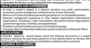 Nigeria High Commission Jobs 2020