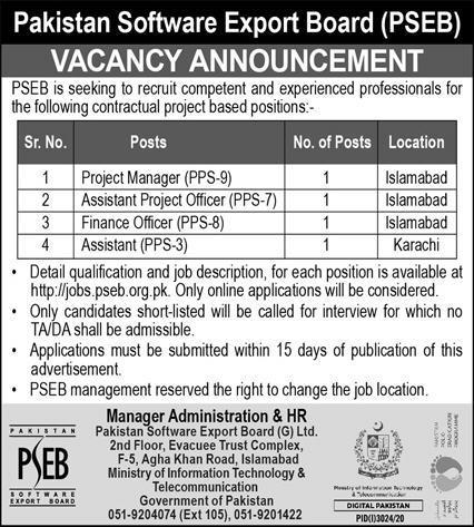 PSEB Jobs December 2020
