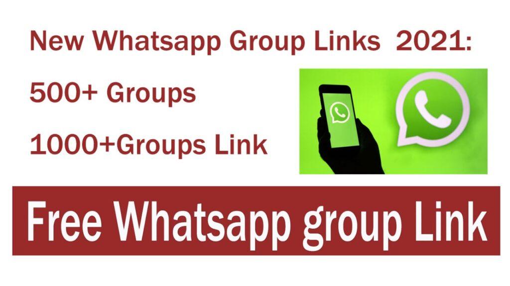 New Whatsapp Group Links 2021