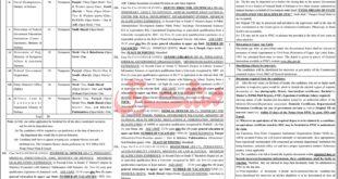 FPSC Jobs July 2021